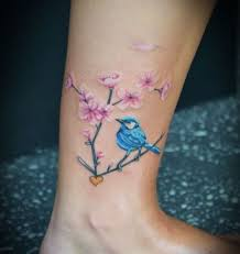 65 bird ankle tattoos ideas