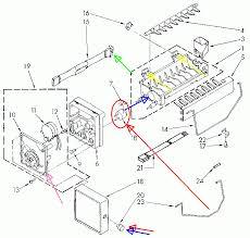 whirlpool ice maker issue in door dispenser with optical sensor