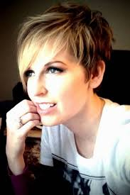 ladies hairstyles short on top longer at back feathered chic pixie with longer side bangs short hairstyles