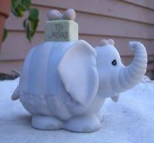precious moments elephant figurine ebay