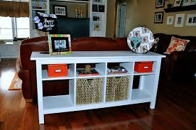 classy behind sofa table storage about home interior ideas with
