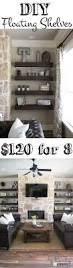 Livingroom Shelves Best 25 Fireplace Shelves Ideas On Pinterest Alcove Shelving