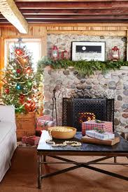 mantel decorations ideas holiday fireplace decorating christmas