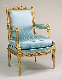 Louis Seize Chair Marie Antoinette Arm Chair By George Jacob In Her Meridian At