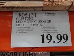costco wireless motion sensor led lights capstone led motion sensor light