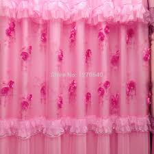 Rose Colored Curtains Curtain Trim Picture More Detailed Picture About 3 Color New