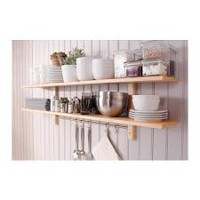 ikea shelf with lip this set of shelves and hooks is perfect for storing cookery books