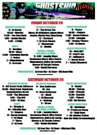 2016 music lineup loveboat halloween