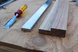 wood and steel magnetic knife rack ikea hackers ikea hackers