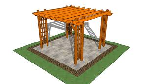 how to build a pergola on a patio howtospecialist how to build