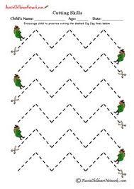 47 best education scissor skills glue skills images on