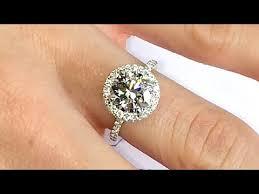 2ct engagement rings engagement rings 2 carat 2 ct diamond halo engagement