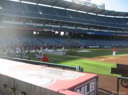Angel Stadium Seating Map Angel Stadium Section 126 Rateyourseats Com