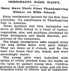 ny times thanksgiving an ellis island thanksgiving notes from the tenement