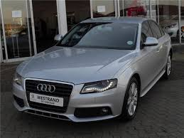 audi westrand 2008 audi a4 1 8 t ambition multitronic 118kw silver with