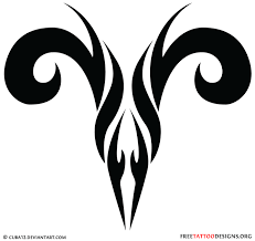 tribal aries sign get your ink on aries