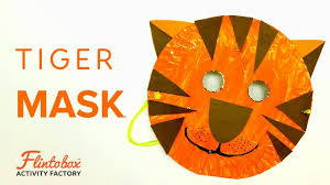 paper plate craft activity for kids how to make a tiger mask