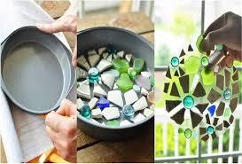 Art In The Garden - diy mosaic art in the garden home design garden u0026 architecture