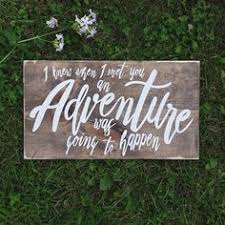 and so the adventure begins sign ring bearer sign flower girl
