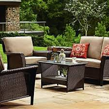 Wicker Patio Table And Chairs Outdoor Patio Furniture Sears