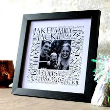 wedding gift photo frame personalised photo frame wedding gift your words their memories