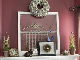 innovative apartment fireplace mantel for easter decoration feats