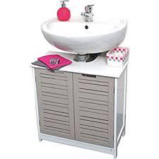 Free Standing Bathroom Sink Vanity Evideco 9900302 Free Standing Non Pedestal Under Sink Vanity