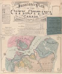Ottawa Canada Map by Georeferenced Ottawa Fire Insurance Plans Macodrum Library