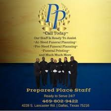 funeral homes in dallas tx prepared place funeral home funeral services cemeteries 4228