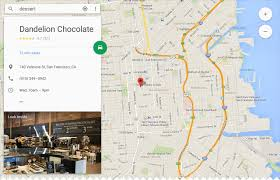 Google Maps Germany by Material Design Guideline For Google Map U0027s Side Pane User