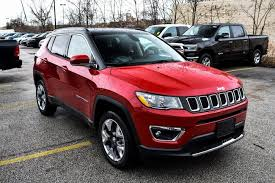 jeep compass limited red new 2018 jeep compass limited 4x4 red line for sale serving euclid