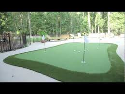 dave pelz greenmaker putting green system youtube