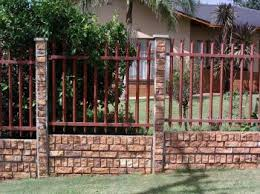 wall pretoria clinker walls steel palisades products and services jan