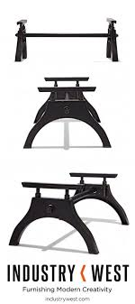 iron horse table base the iron horse coffee table base is our companion piece to the much
