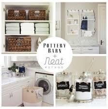 Pottery Barn San Diego Ca Laundry Room Neat Method