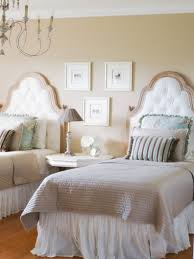 french country bedroom decorating ideas stacked stone walls white