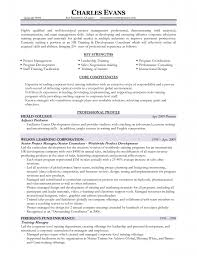 Correctional Officer Resume Samples Training And Development Resume Resume For Your Job Application