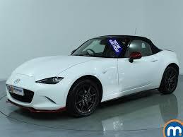 mazda convertible price used mazda mx 5 white for sale motors co uk