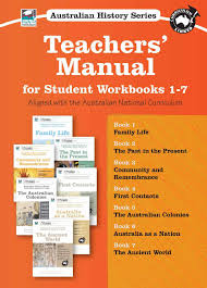 australian history series workbook teachers u0027 manual sample by