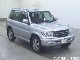 2004 mitsubishi pajero io silver for sale stock no 43923