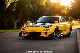 stanced rx7 magnificent modifications off topic automation