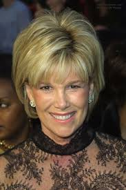 joan lunden s easy short half way the neckline hair with bounce