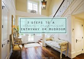 Mudroom Entryway Ideas 3 Steps To A Clean And Organized Entryway Or Mudroom Clean Mama
