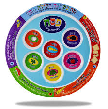 passover seder supplies children s passover gifts colorful seder plate melamine