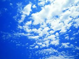 Blue And White Wallpaper by Blue Sky And White Clouds High Definition Picture 16581 Green