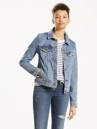 light wash denim jacket womens jean jackets shop women s denim jackets outerwear levi s us