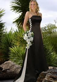Black And White Wedding Dress Wedding Dresses 2009 Planner Wedding Get More Ideas About