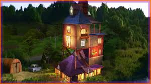 building the weasley u0027s burrow l sims 4 harry potter youtube