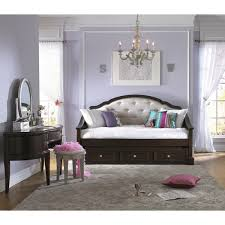 Art Van Glamour Upholstered Daybed Upholstered Daybed Daybed - Bedroom sets at art van