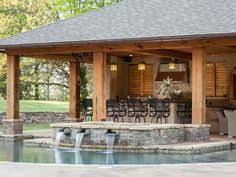 Backyard Pool House by Popular Pool House Designs And Popular Pool Side Cabana Plans To